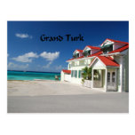 White House on Grand Turk Post Card
