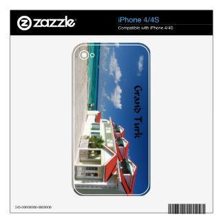 White House on Grand Turk Skins For iPhone 4