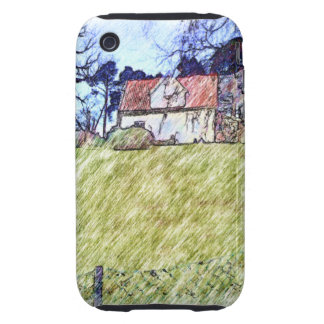 white house on the hill iPhone 3 tough cases