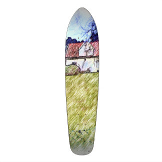 white house on the hill skateboards