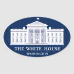 White House Oval Sticker