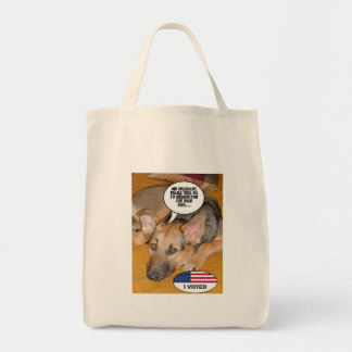 White-House Pet/German Shepherd Tote Bag