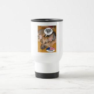 White-House Pet/German Shepherd Travel Mug