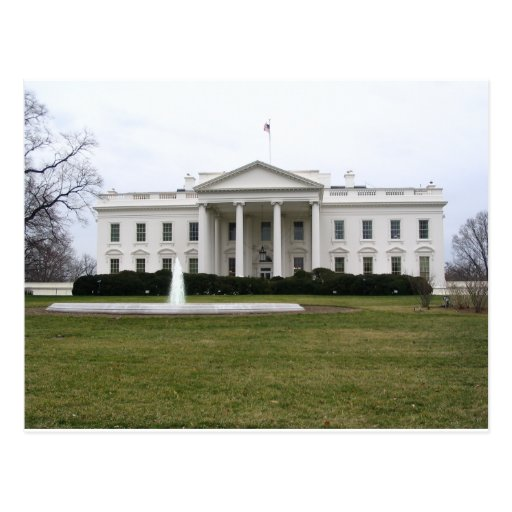 White House Post Card