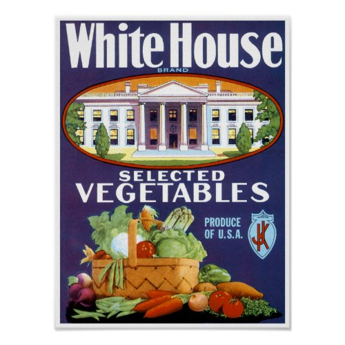 White House Selected Vegetables