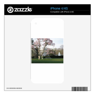 White House Skin For iPhone 4S