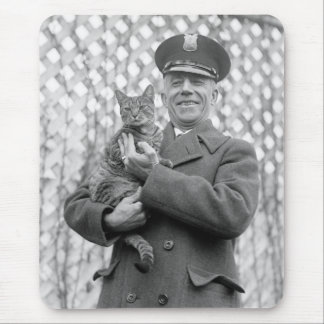 White House Tiger: 1924 Mouse Pad