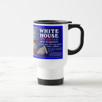 White House TV News 15 Oz Stainless Steel Travel Mug