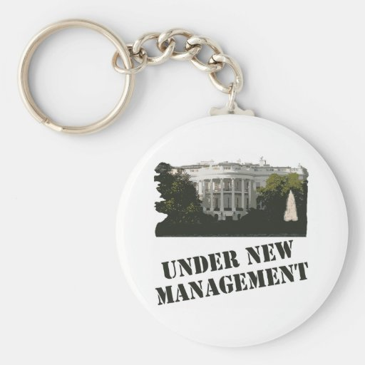 White House: Under New Management Key Chains