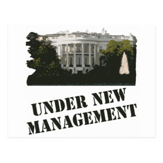 White House: Under New Management Postcard