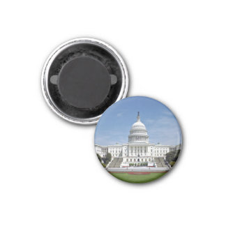 White House US Capitol Building Washington DC Magnet