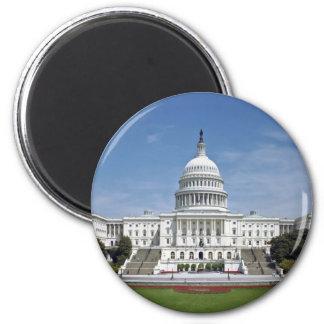 White House US Capitol Building Washington DC Fridge Magnet