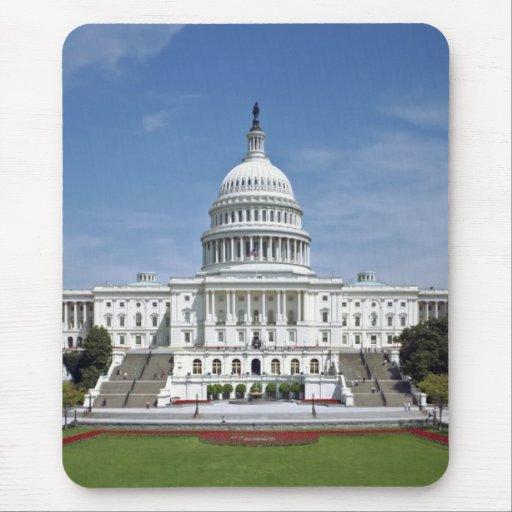 White House US Capitol Building Washington DC Mouse Pad