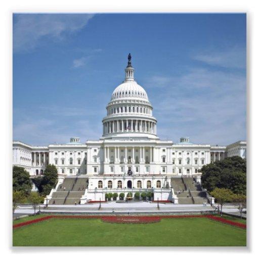 White House US Capitol Building Washington DC Photographic