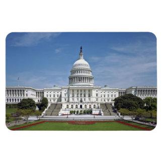 White House US Capitol Building Washington DC Vinyl Magnets