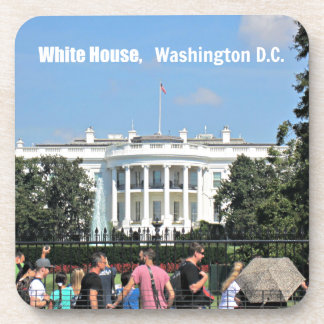 White House, Washington D.C. Drink Coaster