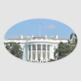 White House, Washington D.C. Oval Sticker