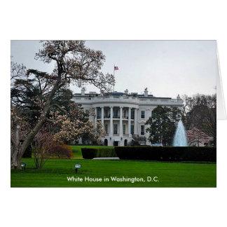 White House, Washington, DC Card