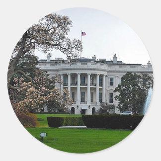 White House, Washington, DC Classic Round Sticker