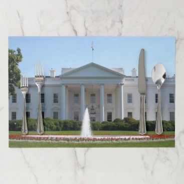 USA Themed White House Washington DC Placemat