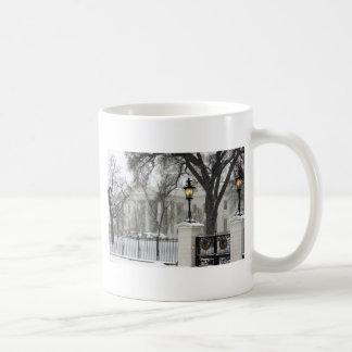 White House White XMas Coffee Mug