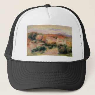 White Houses by Pierre-Auguste Renoir Trucker Hat