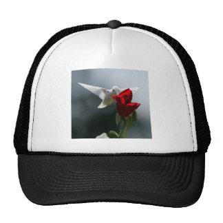White Hummingbird Hat