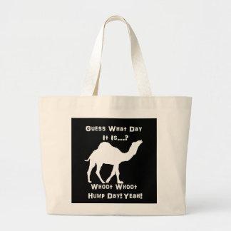 White Hump Day Camel Bag