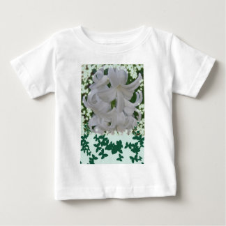 White Hyacinths & Butterflies Baby Infant T-Shirt