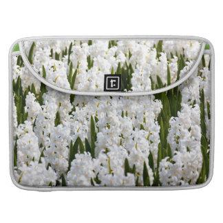 White Hyacinths MacBook Pro Sleeve