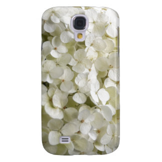 White Hydrangea Galaxy S4 Case