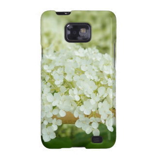 White hydrangea flowers galaxy s2 covers