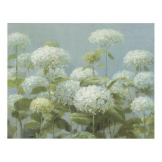 Hydrangea Wall Art white hydrangea art & framed artwork | zazzle
