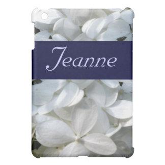 White Hydrangea iPad Case