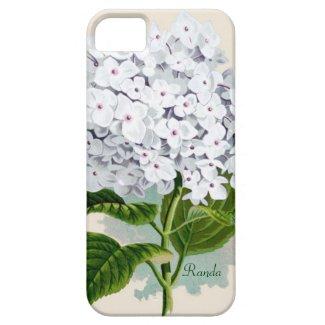 White Hydrangea iPhone 5 Touch Case