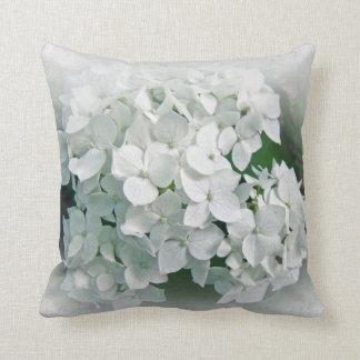 White Hydrangea - Pillow