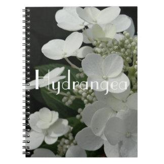 "White Hydrangea ""Still Life"" Notebook"