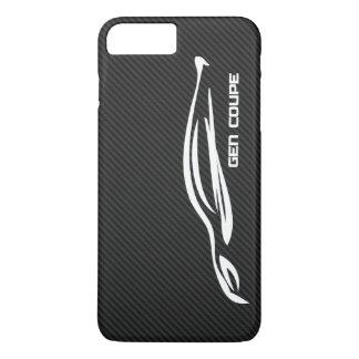 White Hyundai GENESIS COUPE Logo iPhone 8 Plus/7 Plus Case