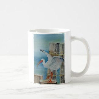 White Ibis by Peggy Allen Coffee Mug