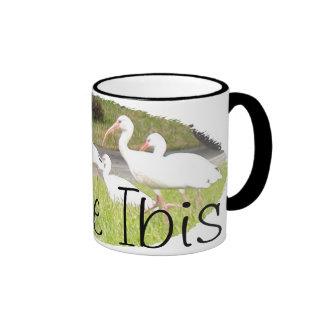 White Ibis Mugs