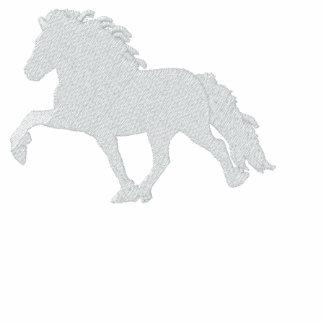 White Icelandic Horse ~ Long sleeve Shirt