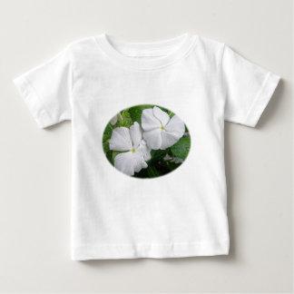 White Impatiens Flowers Baby T-Shirt