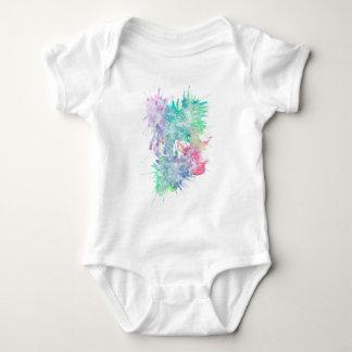 White Ink Baby Bodysuit