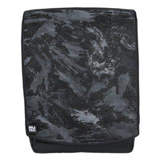 White Ink on Black #2 Backpack