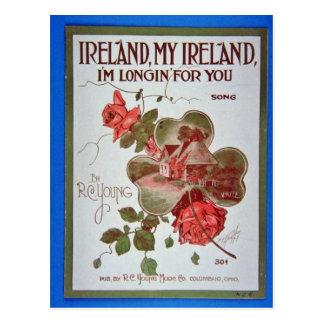 White Ireland, My Ireland, I'm Longin' For You, 19 Postcard