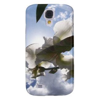 White Iris Galaxy S4 Cover