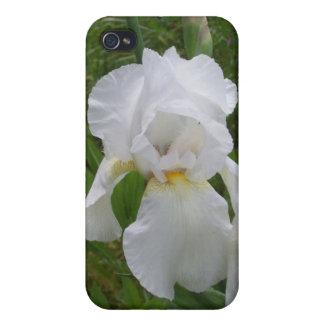 White Iris iPhone 4 Covers