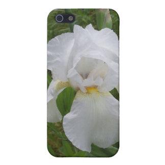 White Iris iPhone 5/5S Cover