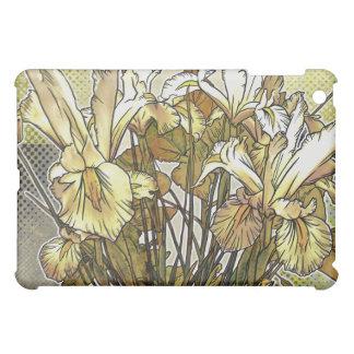 White Iris Print iPad Case