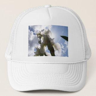 White Iris Trucker Hat